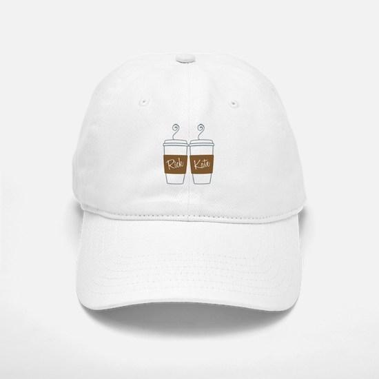 Castle Morning Coffee Baseball Baseball Cap