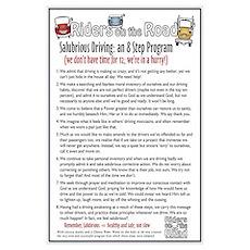 8 Step Program Poster