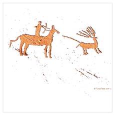 Petroglyph Hunter Poster