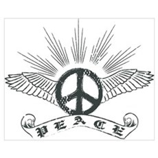 Peace Wing Classic Canvas Art
