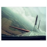 B 17 Wrapped Canvas Art