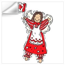 Canadian Angel Wall Decal