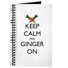 Keep Calm and Ginger On Journal