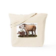 South American Tapir Tote Bag