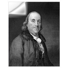 Benjamin Franklin Wall Decal