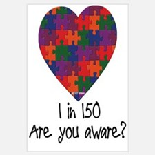 Autism Awareness Month Heart