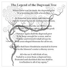 """Dogwood Tree Legend"" Poster"