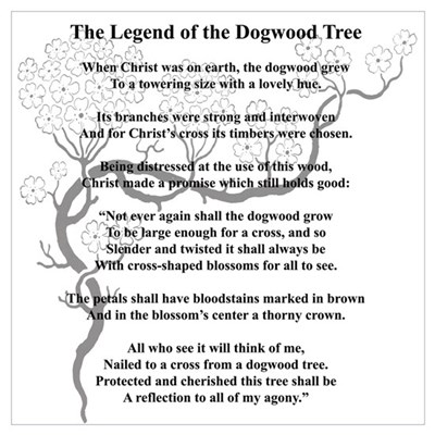 Gratifying image in legend of the dogwood tree printable