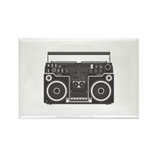 Boombox Rectangle Magnet (10 pack)
