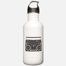 Boombox Water Bottle