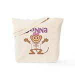 Little Monkey Donna Tote Bag