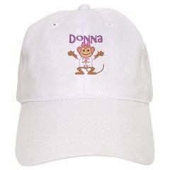 Little Monkey Donna Baseball Cap
