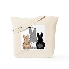 Rabbittude Posse Tote Bag