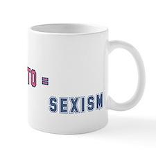 Allergic to Sexism Mug