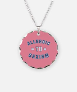 Allergic to Sexism Necklace