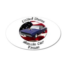 Dodge Charger R/T Medium Oval Wall Peel