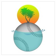 Baseball Paradise Poster
