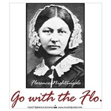 Go with Florence Nightingale! Canvas Art
