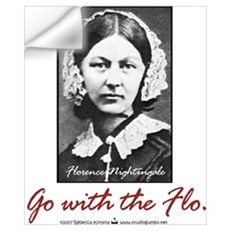 Go with Florence Nightingale! Wall Decal