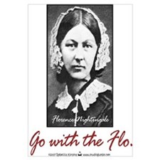 Go with Florence Nightingale!