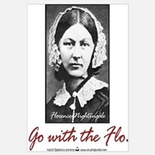 Go with Florence Nightingale!