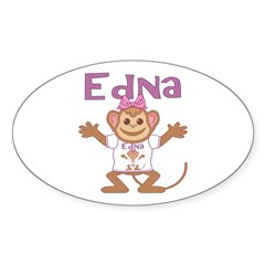 Little Monkey Edna Decal
