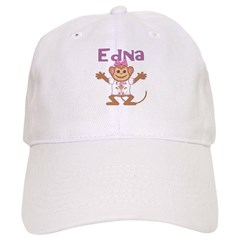 Little Monkey Edna Baseball Cap