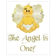 Baby Angel Is One Poster