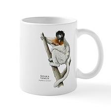 Sifaka Lemur Small Mug