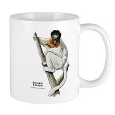 Sifaka Lemur Small Mugs