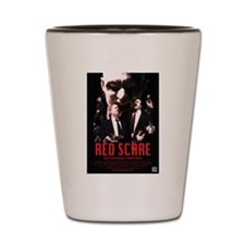 Red Scare Poster Shot Glass