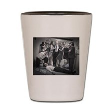 Red Scare Group Shot Shot Glass