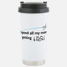 High Wing Stainless Steel Travel Mug