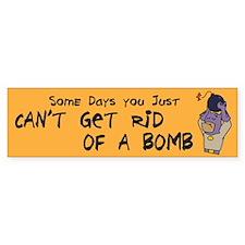 BMan_Some_Days_sticker Bumper Bumper Sticker