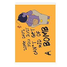 Cute Superhero robin Postcards (Package of 8)