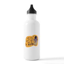 Cute Superhero robin Water Bottle