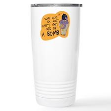 Cute Superhero robin Travel Mug