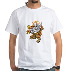 Flaming Gryphon Shirt