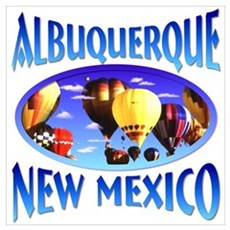 Albuquerque New Mexico Canvas Art