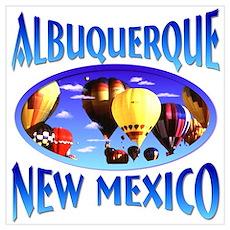Albuquerque New Mexico Poster