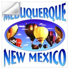 Albuquerque New Mexico Wall Decal