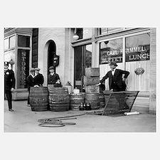 Bootleg Liquor Raid, 1923