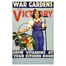 WAR GARDEN GIRL 11x17 Poster