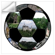 German Soccer Ball Wall Decal
