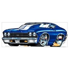 1969 Chevrolet Chevelle Canvas Art