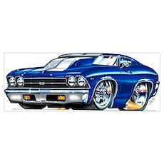 1969 Chevrolet Chevelle Poster