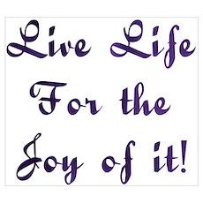 Life Live Design #28 Poster