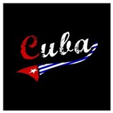 Cuban flag Posters