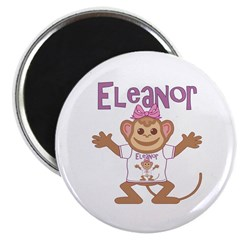 Little Monkey Eleanor Magnet