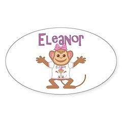 Little Monkey Eleanor Decal